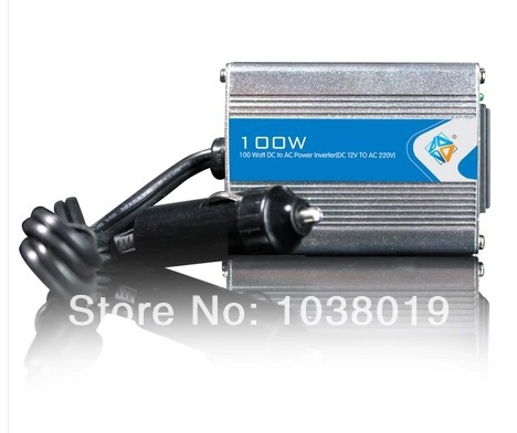100W-Modified Sine Wave power inverter 100w peak 200W DC12V to AC 220V dc ac Power Inverter-2