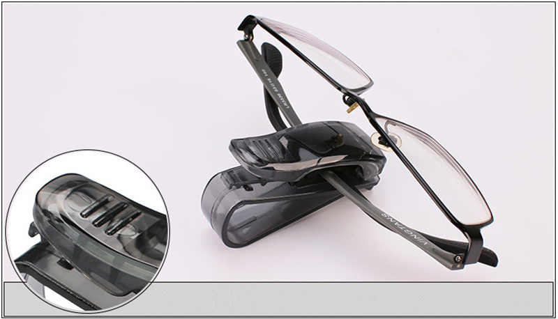 Akcesoria samochodowe osłona przeciwsłoneczna okulary przeciwsłoneczne zacisk do okularów uchwyt na bilety stojak dla Lexus RX300 RX330 RX350 IS250 LX570 is200 is300 ls400 CT