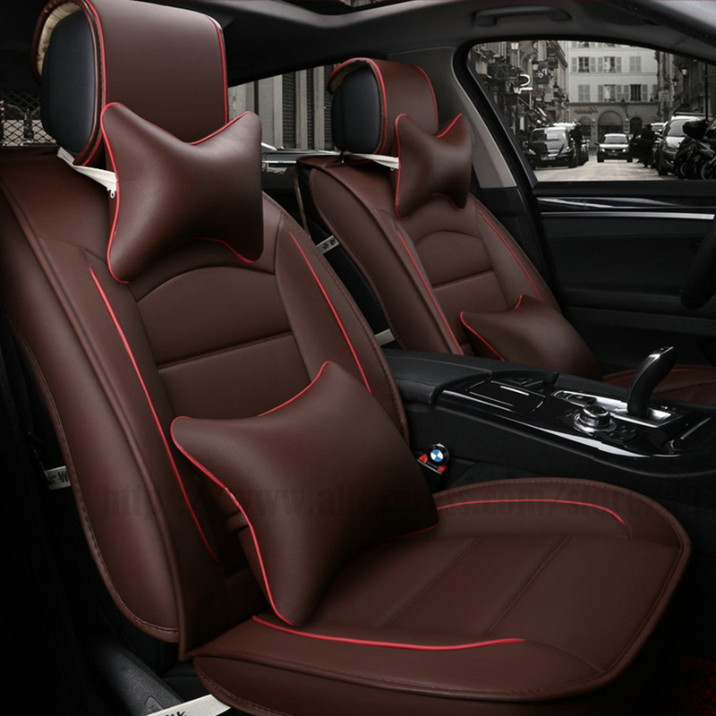 все цены на Universal car seat cover for lexus gs300 rx ct200h nx for fiat linea punto evo palio albea uno ducato bravo Car seat protector онлайн
