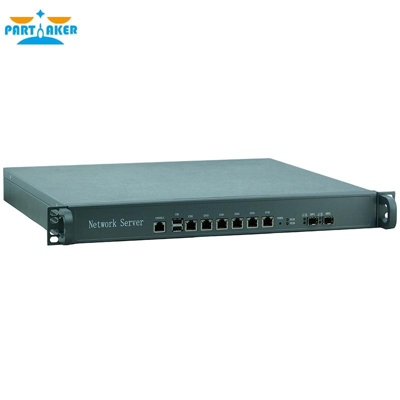Причастником F9 H67 6 Порты Gigabit LAN 1u сетевой сервер межсетевого экрана устройства  ...