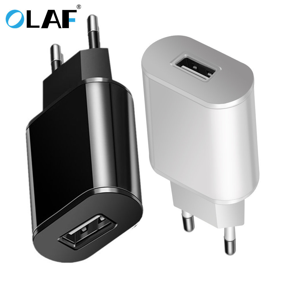 Olaf Eu Plug Usb Charger 2a Safe Fast Charging Usb Adapter