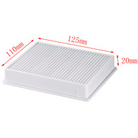1Pcs Vacuum Cleaner Dust Filter HEPA H11 DJ63 00672D Filter For Samsung SC4300 SC4470 White VC