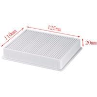 1Pcs Vacuum Cleaner Dust Filter HEPA H11 DJ63 00672D Filter For Samsung SC4300 SC4470 White VC