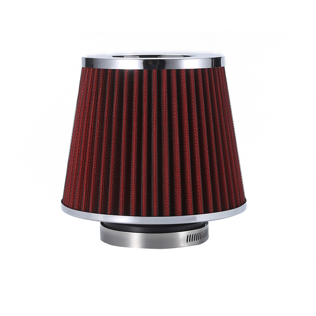Un054 Applicable Model Gm Non-Ironing Amicable Automobile Cold Air Intake Modified Mushroom Head Air Filter 3inch Filter 76mm Xh Auto Replacement Parts