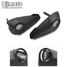 Bjmoto motorcycle Racing Big Led Handguards Hand Guard Light for KTM EXC CRF YZF ATV Dirtbike 28mm 22mm Handbar Fat Handlebar