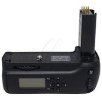 New MeiKe MK D80L LCD Vertical Battery Grip Pack Holder For Nikon D90 D80 SLR Camera