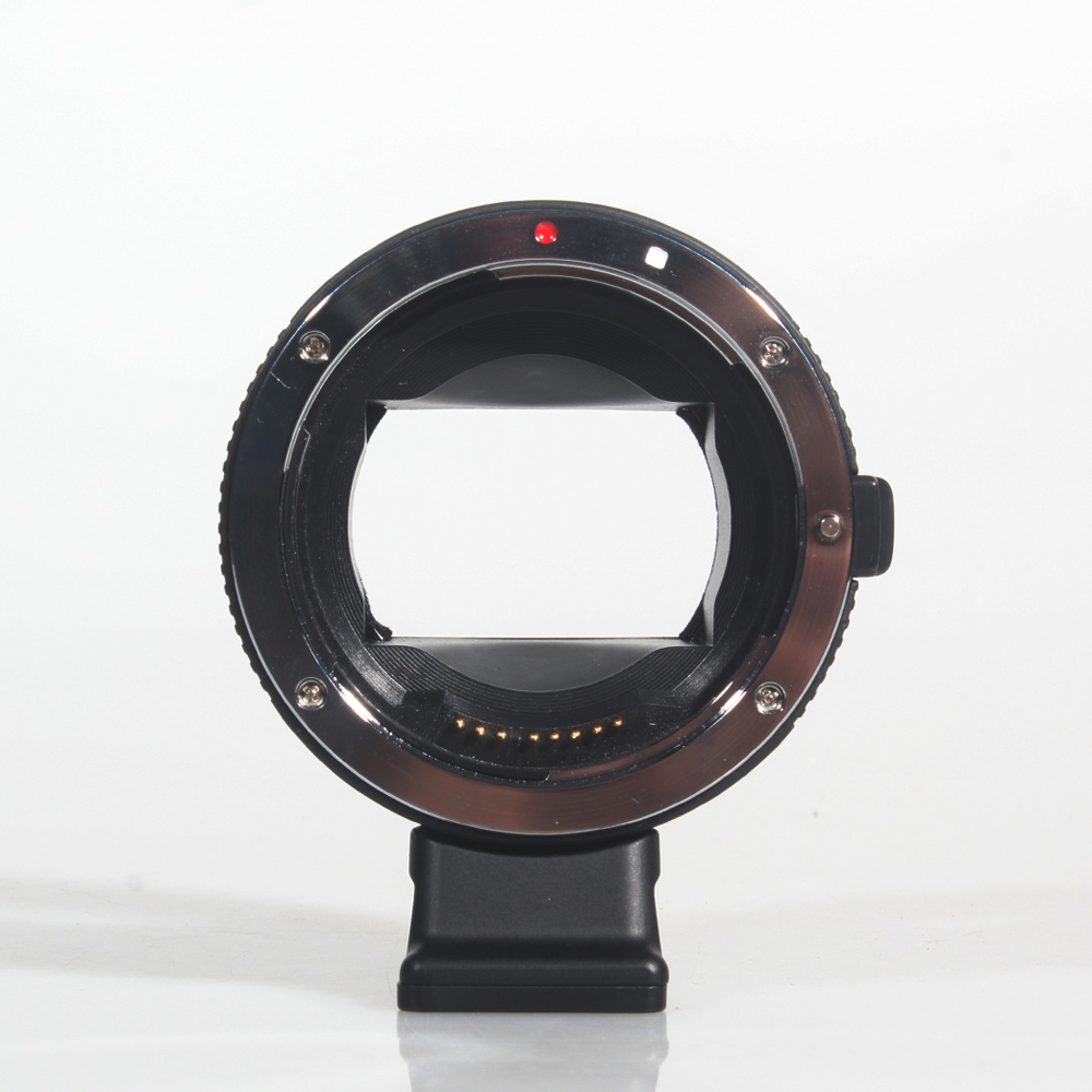 Commlite CM-EF-NEX B Lens Adapter Electronic AF Lens Mount Adapter for Canon EF Lens to Sony E-Mount Camera Camcorder mcolpus auto mount adapter ef nex for canon eos ef mount lens to sony nex series e mount camera with 1 4 tripod socket