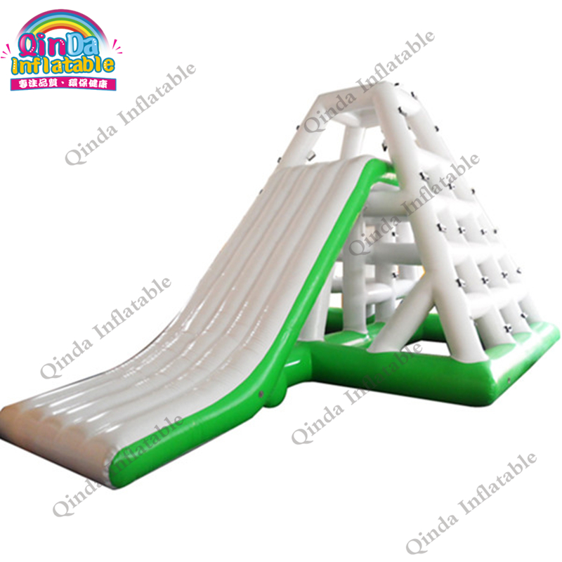 L7*W5*H4m (23ft*16.5ft*13ft) Custom Pool Float Water Park Slides Inflatable Waterpark Slide aqua park slide