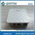 FiberHome gpon onu AN5506-01 Un mini tipo, se aplica a los modos de FTTH ONU, con 1 puerto de internet, de color blanco