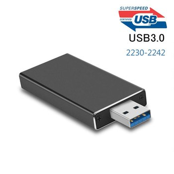 5Gbps USB 3.0 to M.2 2230 2242 SSD Enclosure NGFF SATA-bus B KEY External SSD Adapter Case Support UASP usb