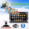 Автомобиль Электронные авторадио 2din android 4.4 dvd-плеер автомобиля стерео Gps-навигация WI-FI + Bluetooth + Радио + Quad Core CPU + 3 Г + TV (Опция)