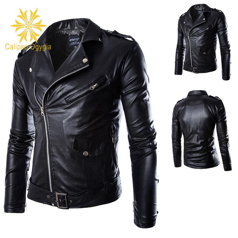 New arrive mens leather jackets motorcycle 4XL leather jackets men ,men's leather jacket, jaqueta de couro masculina,men coats