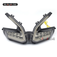 For DUCATI 899 959 1199/S/R 1299 Panigale Motorcycle Integrated LED Tail Light Turn signal Blinker Lamp Smoke
