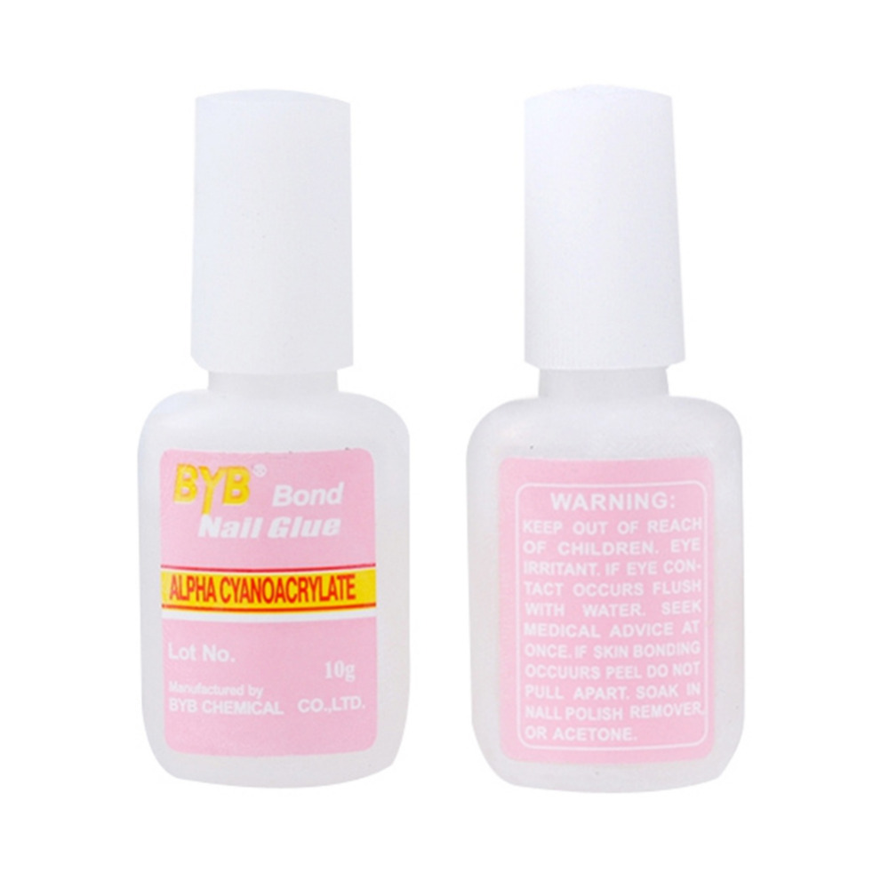Nail Glue 10g Nail Art Faluse Tips Glue Nail Gel Kit Professional ...