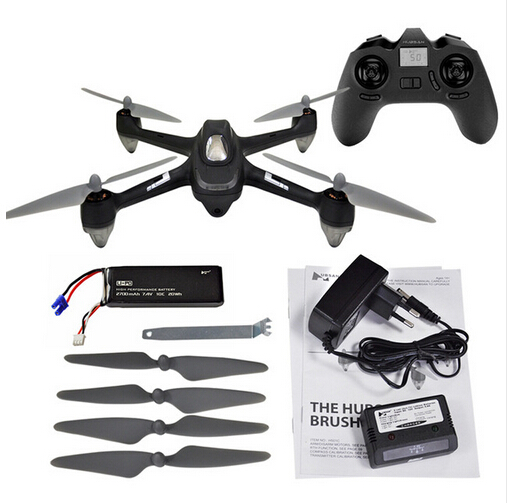 Hubsan X4 H501C RC Drone Brushless Motor GPS Altitude Hold Mode RC Quadcopter with 1080P HD Camera Switch RT lipo battery 7 4v 2700mah 10c 5pcs batteies with cable for charger hubsan h501s h501c x4 rc quadcopter airplane drone spare
