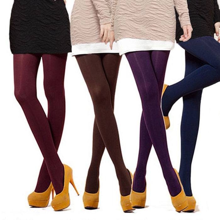 1-Pair-NEW-8-Colors-Sexy-Women-Lady-120D-Opaque-Footed-Tights-Pantyhose-Foot-Seamless-Stockings (11)