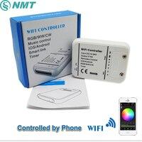 DC12V 24 V Bezprzewodowy Kontroler LED RGB/RGBW/RGBWW 16 Milionów Kolorów Muzyki i Tryb Timera Wifi Sterowania przez IOS/Android Smartphone