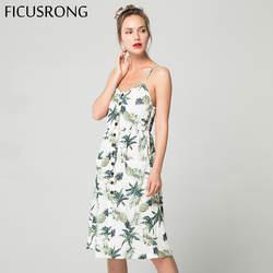2019 летнее женское платье на пуговицах, украшенное принтом вечерние с открытыми плечами, пляжный сарафан, длинные платья в стиле бохо
