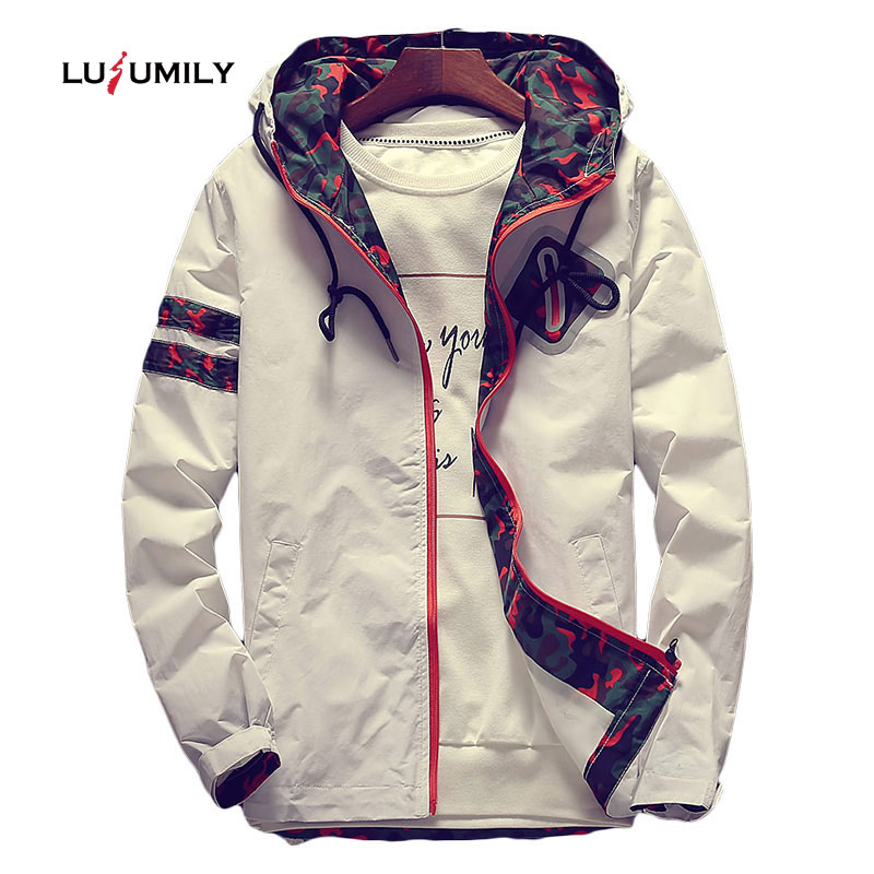 Lusumily Women's Hooded   Jackets   2019 White Floral Women   Basic     Jackets   Flowers Windbreaker Coats Zipper Lightweight   Jackets   Famal