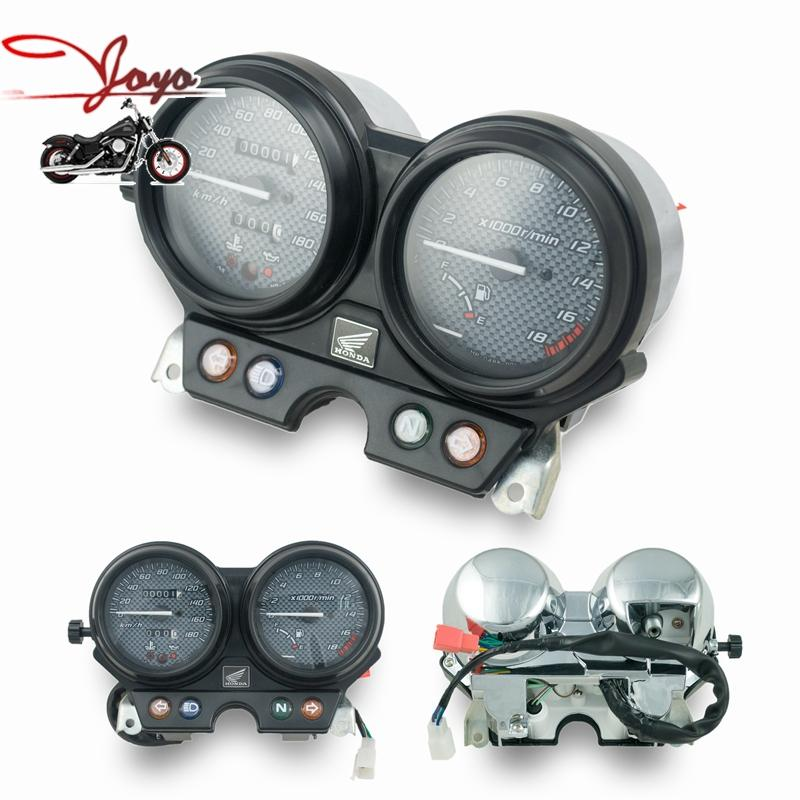 Motorcycle Speedometer Tachometer speedo instrument assembly motorcycle gauge meter accessories For CB250 Hornet 2000-2005