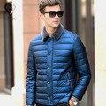 Novos Homens de Inverno Com Capuz Jaqueta casaco Homens Algodão Grandes Casacos de Zíper Meth Algodão Jaqueta Casual Outwear Grosso para baixo homens jaqueta de marca Homem