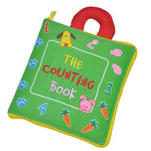 Soft Books Infant Early cognitive Development My Quiet Books baby goodnight educational Unfolding Cloth Books Activity Books DS9(China)