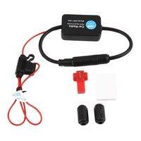 ANT 208W Universal Automatic Car Radio Signal Amplifier Car Radio Aerials Vehicle Useful FM AM Aerial