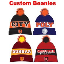 d67016d0 Factory Wholesale! Free Shipping! Custom Beanies Hat Jacquard Knitted Cap  For Kids And Adult