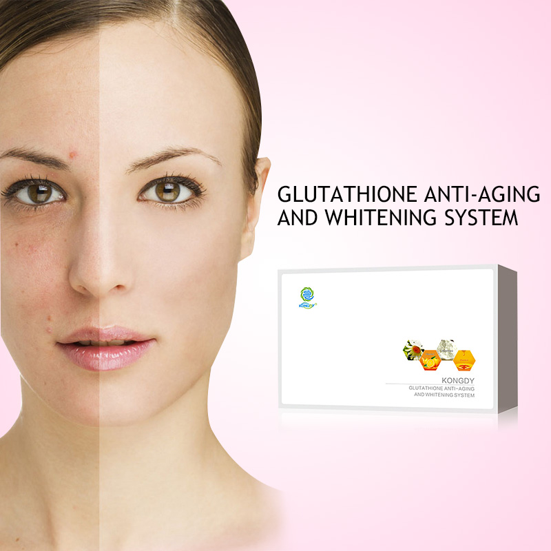 KONGDY 16 Patches Glutathione Skin Ljusa Anti-Aging Reducera Dark Patch Naturlig Kamille Essentiell Olja Undvik Allergi