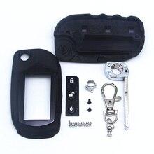 משלוח חינם A91 מפתח מקרה Keychain עבור Starline A91 A61 B9 B6 נימול להב fob מקרה כיסוי A91 מתקפל רכב flip שלט רחוק