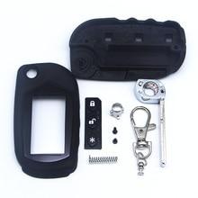จัดส่งฟรี A91 กรณีพวงกุญแจสำหรับ Starline A91 A61 B9 B6 uncut Blade FOB A91 รถพับรีโมทควบคุม