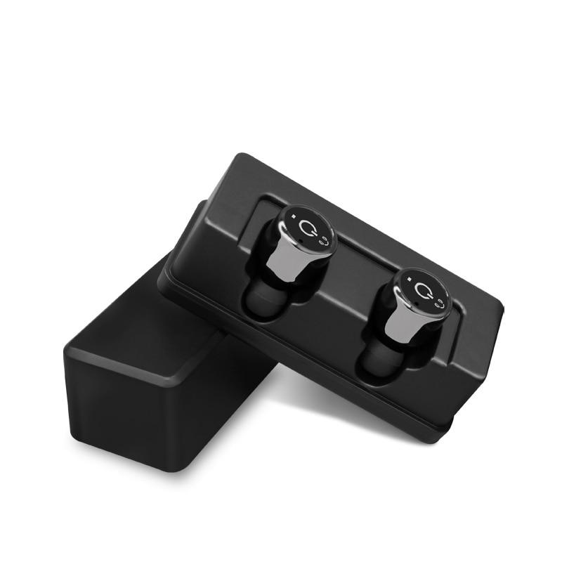 bilder für HESTIA Tws X1T Mini Drahtlose Bluetooth Kopfhörer Headset Bass Stereo CSR4.2 Wahre Wireless Sprachaufforderung Ohrhörer mit Lade Box