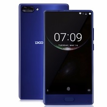 Doogee Mix 6GB RAM 64GB ROM 5.5 Inch HD Helio P25 8 Core Smartphone Octa Core 16MP Dual Rear Cam Fingerprint Bezel-less Phone
