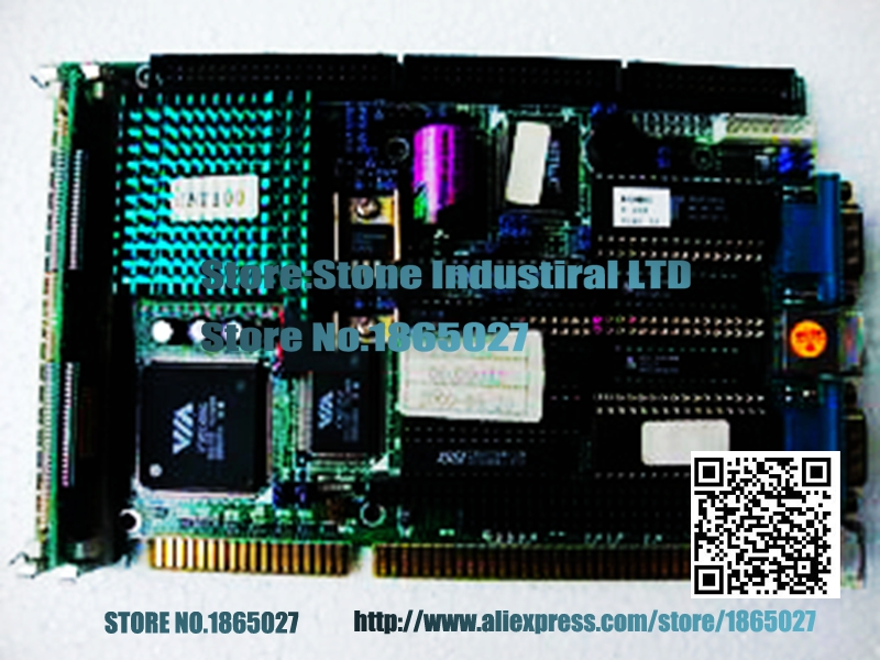 LMB-486LH half- length 486 ISA industrial motherboard CPU memory cassette 100% test  good quality