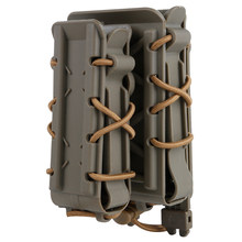 Buy 2Pcs WST Magazine Pouch Fastmag Holder Outdoor Hunting Shooting Airsoft Accessories for 5.56 / 7.62 / 9MM / 45ACP - Tan save