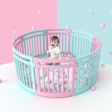 Children's Indoor Playgrounds Safety Baby Fence with Educational Baby Gate Door Playpen Child Safety Fence Playpen for Baby Toys