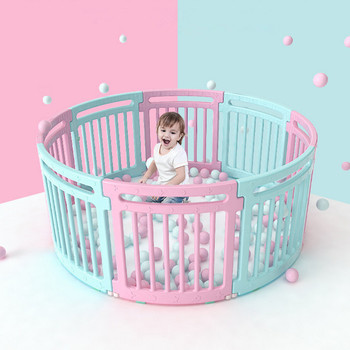 Children's Indoor Playgrounds Safety Baby Fence with Educational Baby Gate Door Playpen Child Safety Fence Playpen for Baby Toys baby game fence multiple combinations baby crawling fence toddler fence child safety fence toy