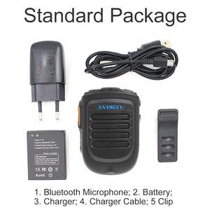 Image 5 - Wireless PTT Bluetooth handsfree Speaker B01 Microphone for POC Android Network Radio Walkie Talkie Phone work with Zello PTT