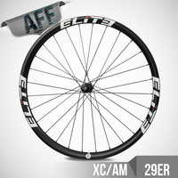 ELITE 29er Carbon Wheels Mtb Cross Country / All Mountain 30mm Width 30mm Depth Clincher Rim With DT350 Hub Light Weight