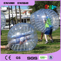 Free Shipping Amazing 1.5m PVC Inflatable Human Hamster Ball Inflatable Bumper Ball Bubble Football Bubble Soccer Zorb Ball