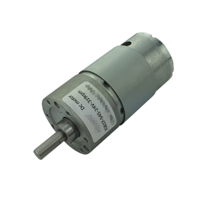 цена на 12-36V 24V Voltage 15W Speed Reduction High Torque Electric DC Geared Motor JGB37-545 960/600/319/200/107/66/45/35/22/12/7rpm