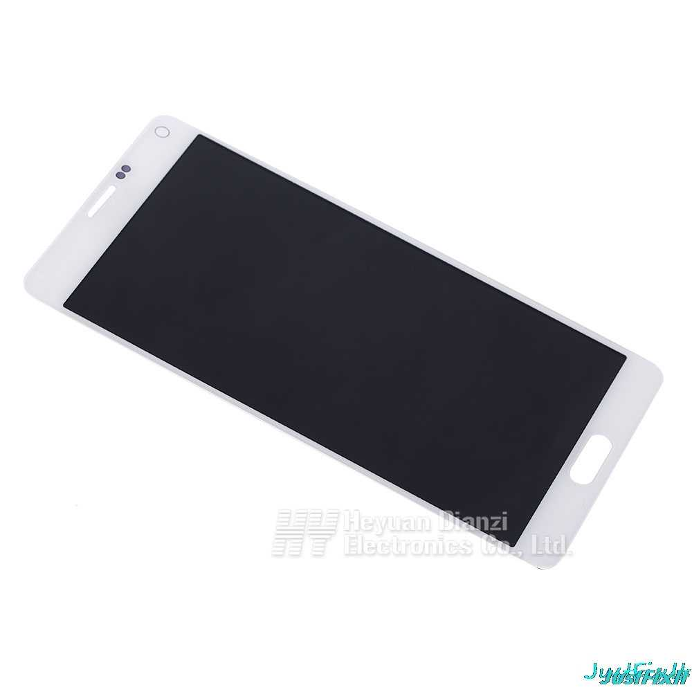Замена Super AMOLED для samsung Galaxy Note 4 горящая в тени N910 N910C N910A N910F ЖК-дисплей сенсорный экран дигитайзер