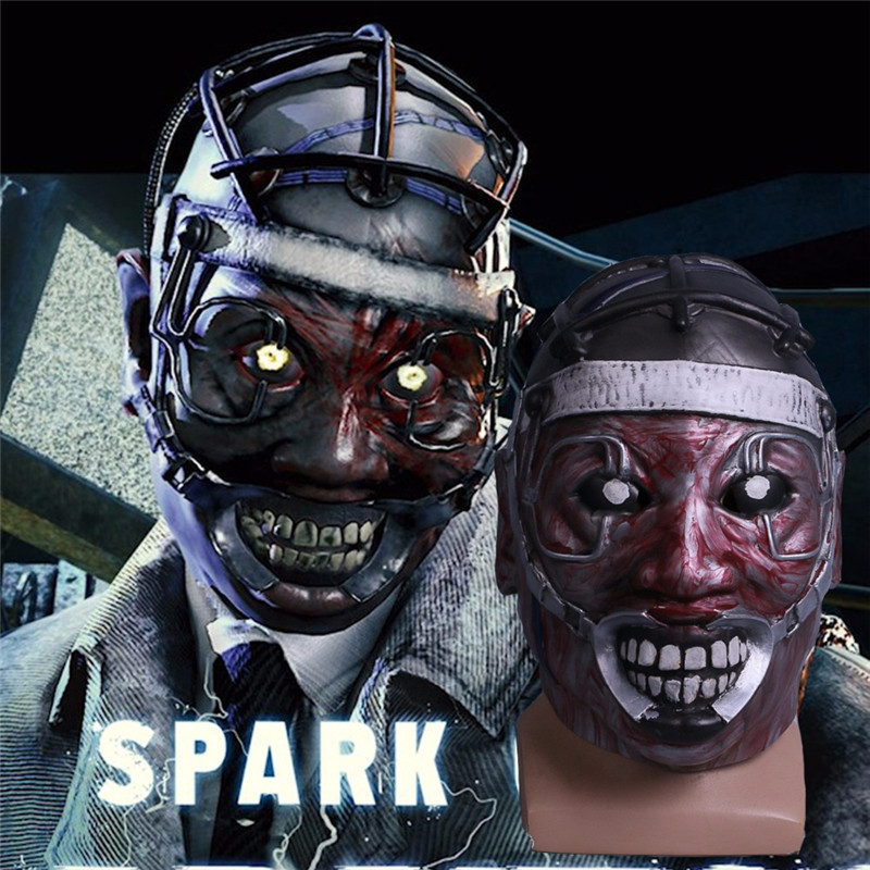 Boys Costume Accessories Kids Costumes & Accessories Shop For Cheap Takerlama Game Dead By Daylight Mask Spark Of Madness Mask Cosplay The Doctor Scary Mask Costume Halloween Party Use Props