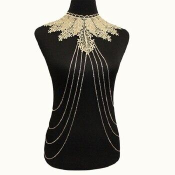 Lace Choker & Body Harness 4