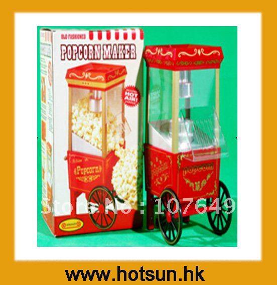 ФОТО 3oz 220V Home Use Electric Popcorn Cart Maker Baker Machine