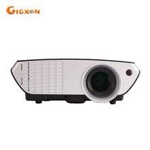 Gigxon-8003 2016 última de alta lumen de la ayuda 1080 P HD LED mini proyector para el hogar/negocio