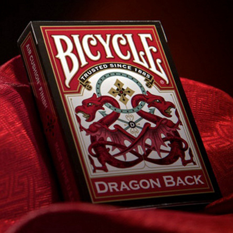 New Magicians Favorite Original Bicycle Dragon Playing Cards Advanced Paper Poker Magic Tricks Gift Collection Poker