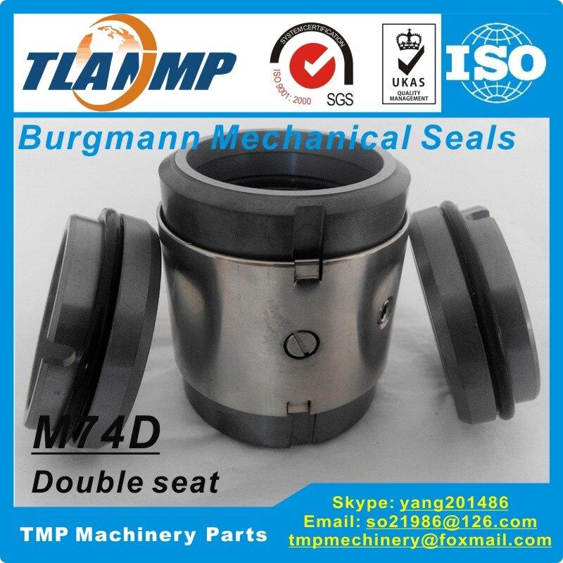 Image 2 - M74D 35 M74D/35 G9 M74D/35 G60 Burgmann Mechanical Seals  (Materilal:SiC/SiC/VIT) M74 D Double Face mechanical sealsmechanical  sealburgmann mechanical sealsseals mechanical