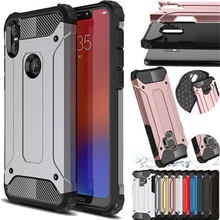 For Motorola One Power G7 E6 Hybrid Armor Cover For moto G5 G5S G6 E5 G4 G3 Z Plus Play Go Shockproof Luxury Silicone phone Case(China)