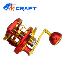 Automatic Line Guide Jigging Reel  Saltwater Boat Fishing Slow and fast CNC Aluminium Full Metal 6.31 13+2BB